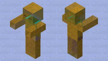 Honey zomBee Minecraft Mob Skin