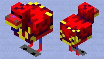 Hell chicken Minecraft Mob Skin
