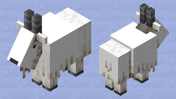 Better Goat Minecraft Mob Skin