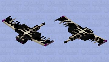 The ender phantom#biome swap Minecraft Mob Skin