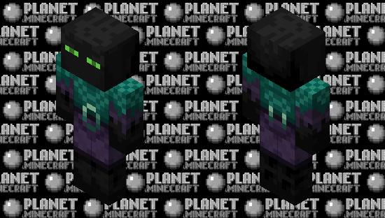 Enderman / Piglin / remade / V.2 / original versión / for Swap Dimensions Minecraft Skin