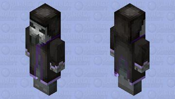 Remastered Evoker Minecraft Mob Skin