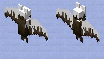 Creamy bat Minecraft Mob Skin