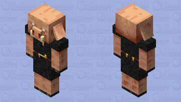 piglin in Blackstone amour! Minecraft Mob Skin