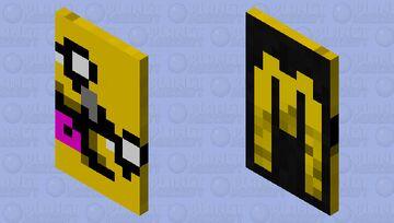cape-Mikecrack logo Minecraft Mob Skin