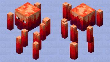 Crimson Blaze (Bedrock/Java) Minecraft Mob Skin