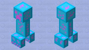 Lumi-Creeper Minecraft Mob Skin