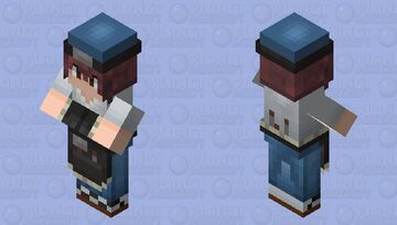 Japanese Village (mason) Minecraft Mob Skin