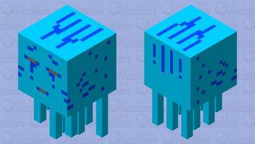 ghast d'eau Minecraft Mob Skin