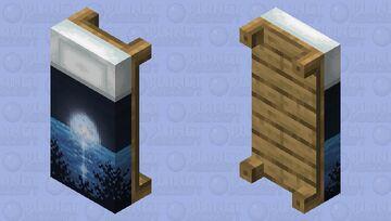 Bed full moon Minecraft Mob Skin