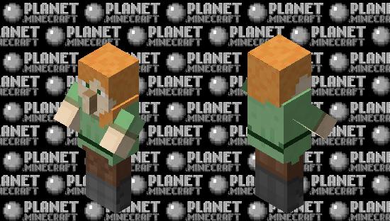Alex Villager Hybrid Minecraft Skin
