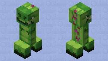 Cute green dinosaur :3333 Minecraft Mob Skin