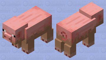 Cerdo cusió Minecraft Mob Skin