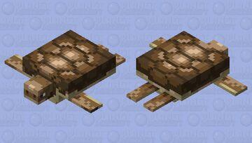 Prehistoric Turtle Minecraft Mob Skin