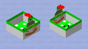 Bowser Minecraft Mob Skin
