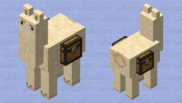 noseless llama (noseless edition) Minecraft Mob Skin