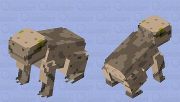 Spring Peeper Frog (second entry) Minecraft Mob Skin