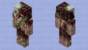 Zombified Piglin Beast Minecraft Mob Skin