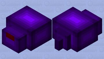 Better endermite: re-textured Minecraft Mob Skin