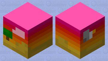 Art cube- Sunset Minecraft Mob Skin
