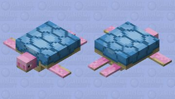 sweet turtle Minecraft Mob Skin