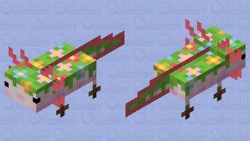 Mossylotl Minecraft Mob Skin