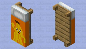 Peely bed Minecraft Mob Skin