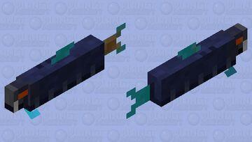 Toxic Sting-Eel Minecraft Mob Skin