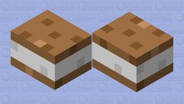 Ice cream sandwich Minecraft Mob Skin