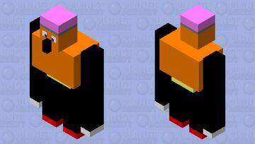 Pencil Golem Minecraft Mob Skin