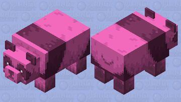 Lush Panda Minecraft Mob Skin