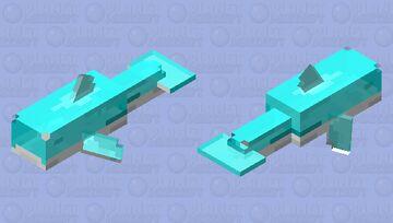 Gummi Shark [Blue] [Non Hd] (Java) Minecraft Mob Skin