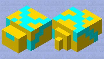 god endermite Minecraft Mob Skin