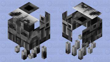 Weird Terminator ghast Minecraft Mob Skin