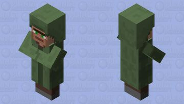 THE VILLAGER WITH NO NOSE Minecraft Mob Skin