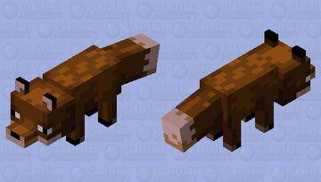 extinct fox Minecraft Mob Skin
