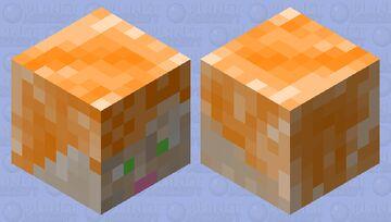 Alex Head Minecraft Mob Skin