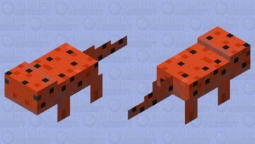 Red Salamander Minecraft Mob Skin