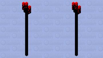 the trident of carnage, unchained demon Minecraft Mob Skin