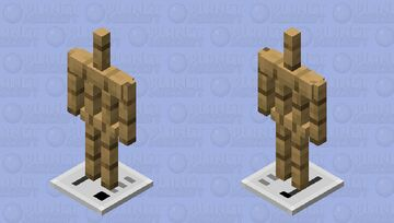 Toaster Armor Stand v2 Minecraft Mob Skin