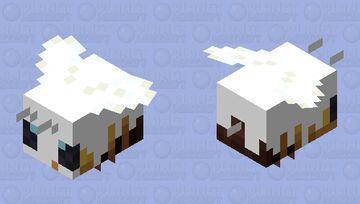 Creamy bee Minecraft Mob Skin