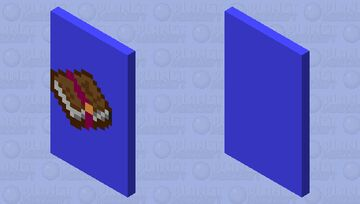 Enchanted book cape Minecraft Mob Skin