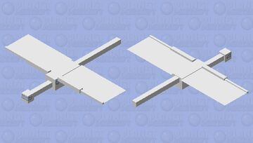 Bad Air plane Minecraft Mob Skin