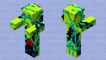 Malfunctioning Golden Robot Minecraft Mob Skin