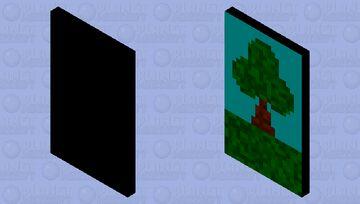 Tree cape Minecraft Mob Skin