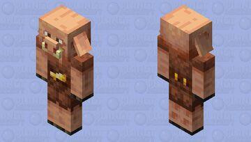 Piglin but its my mind illusion Minecraft Mob Skin