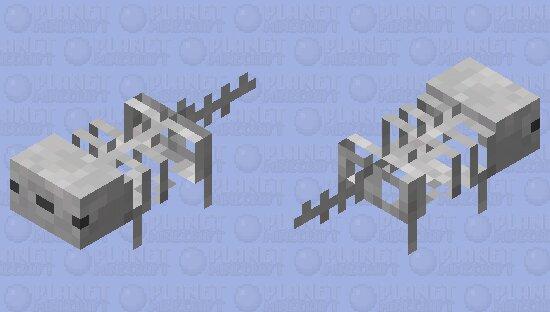 Skeleton axolotl / my version