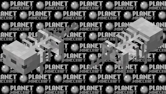 skeleton axolotl / my version Minecraft Skin