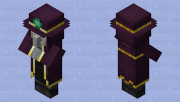Illager Epidemic Doctor / Remade Re-texturing / Minecraft Mob Skin
