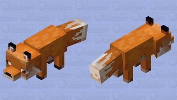 Fox (BlueshLeaf Version) Minecraft Mob Skin